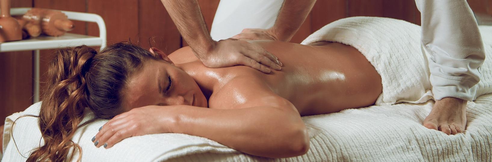 Backial back massage in Greenwich