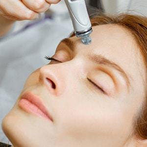 Crystal Clear Oxygen Facial treatment