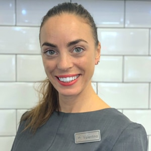 Valentina specialises in nails and massage