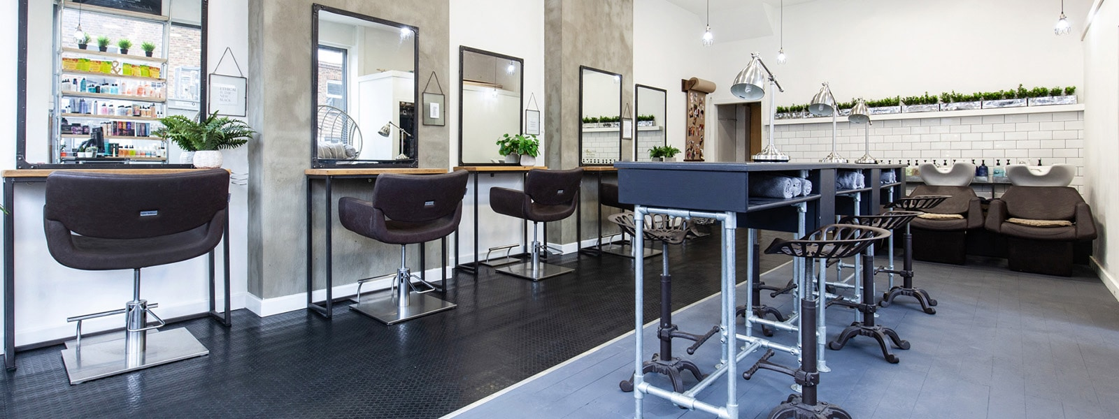 Interior of our beauty salon