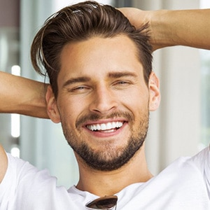 Mens hairstyling and cutting services